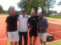 Derek Lauder, Lister McKiddie, Fraser Paterson & Terry McGuigan