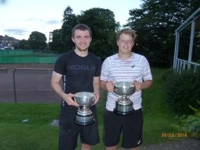 Daniel Gunn & Philip Blythe Mens Open Doubles
