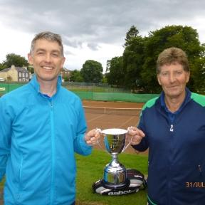 Lister McKiddie & Geoff Legg 45+ Mens Doubles