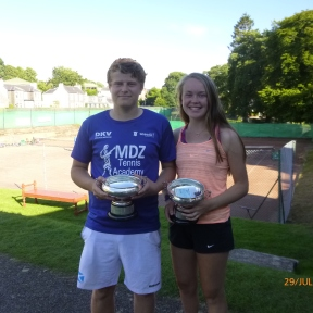 Philip Blythe & Heather Croll Mixed Doubles