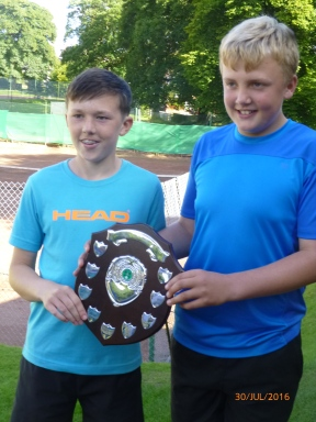 James Hale & Billy Blaydes 16s Doubles