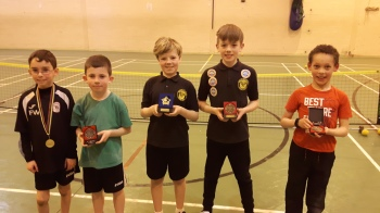 Finlay, Harry, Devon, Daniel & Euan