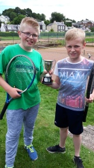 Brandon & Ben (Moffat) D&G 12s & under boys league champions