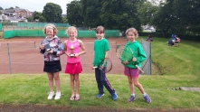 10s Girls Ellen, Aimee, Keeley & Rose