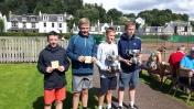 Open Gents Doubles James, Billy, Robert & Thomas