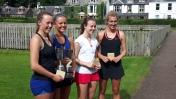 Open Ladies Doubles Rosie, Lucia, Anna & Nicola