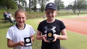 U 14 Girls Grace & Heather