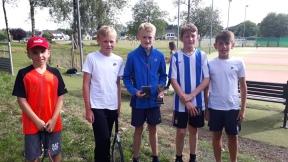 U14s Flynn, Ben, Adam, David & Tom