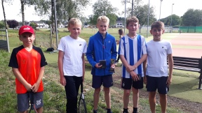 U14s Flynn, Ben, Adam, David & Tom