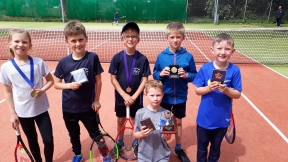 U8s Autumn, Cameron, Grant, Oliver, Jake and Logan