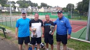 45+ Men's Lister, Stevie, Paul & Mike