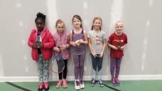 8s Girls Nikemi, Kathryn, Charlotte, Autumn & Grace