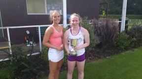 Ladies open Lucia & Winner Zoe