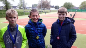 Innes, Oliver Barlow & Angus 10s event