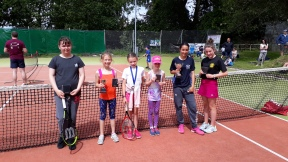 Daisy, Autumn, Abigail, Grace 9s and Eve & Isla 14s