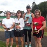 Ladies 40+ Singles - Fiona, Diane, Sue & Liz