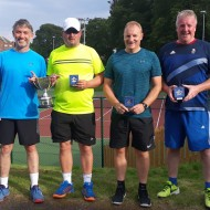Men's 45+ Doubles - Lister, Colin, Fraser & Brian (2)
