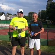 Men's 45+ singles - Colin & Paul